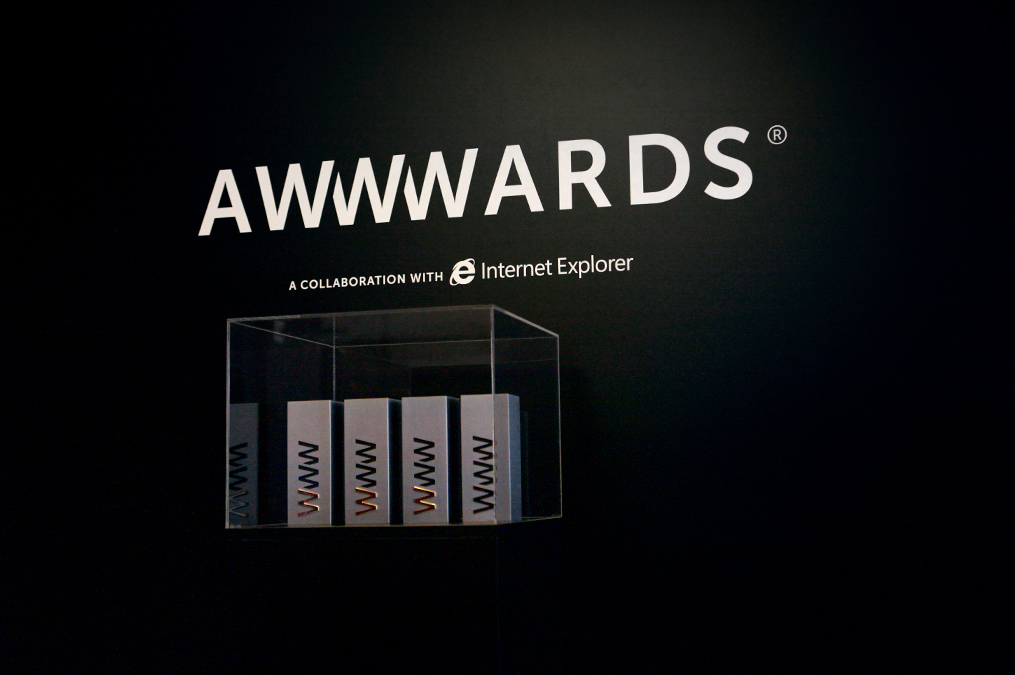 Awwwards trophies