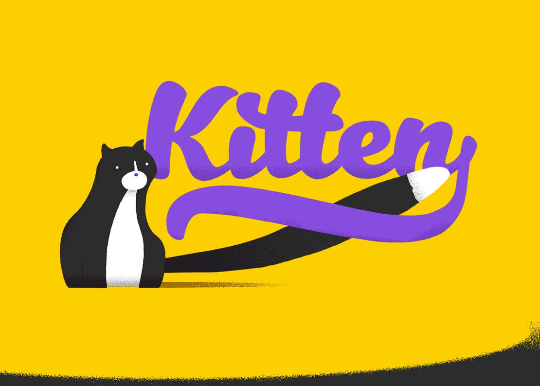 Kitten Font Family