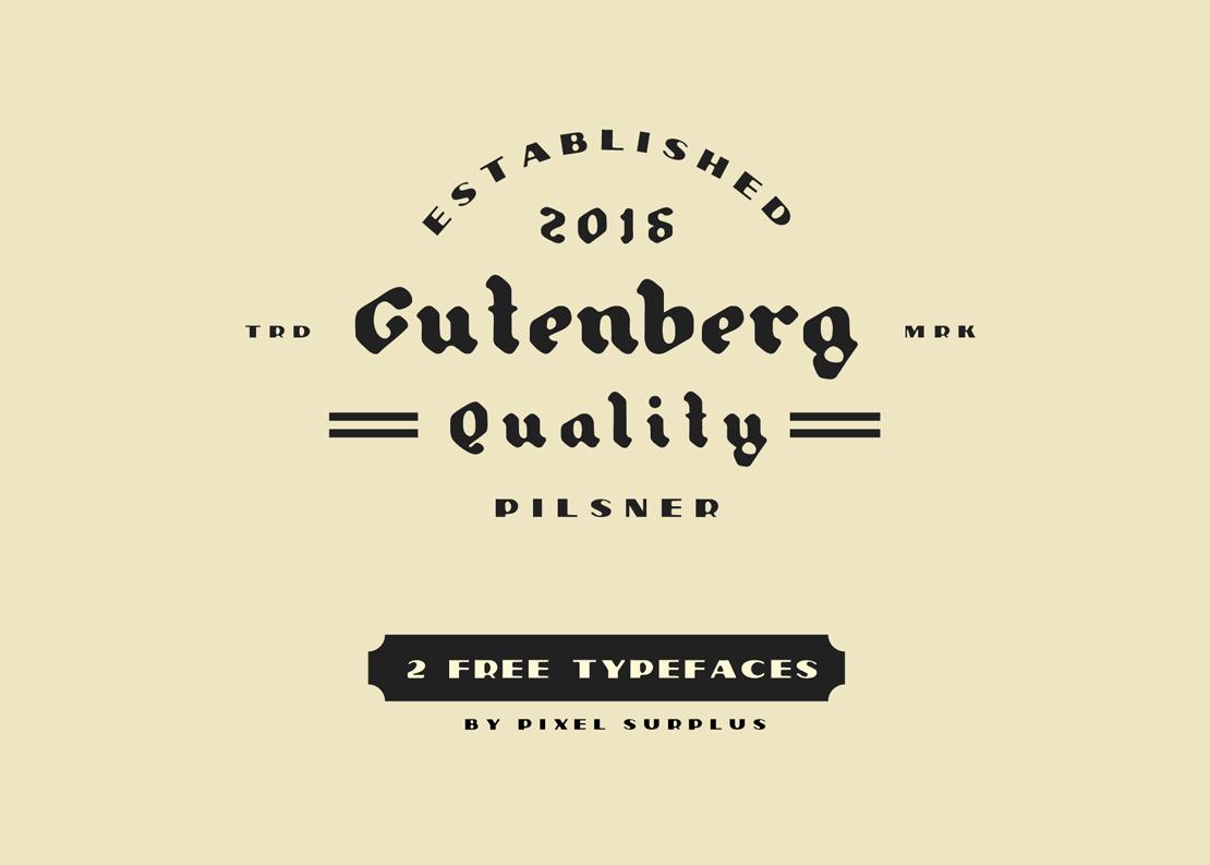 PILSNER & GUTENBERG