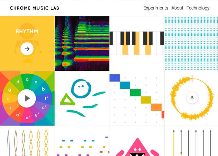 Chrome Music Lab Music + Code