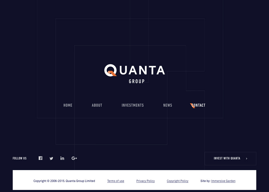 Clean Quanta Group Footer