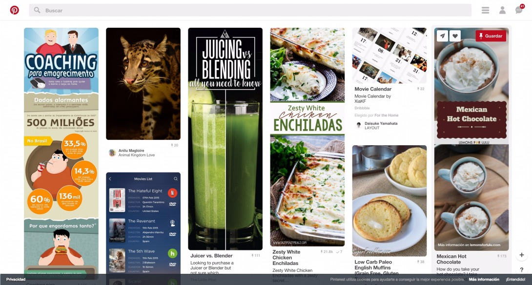 (41) Pinterest • El catálogo global de ideas