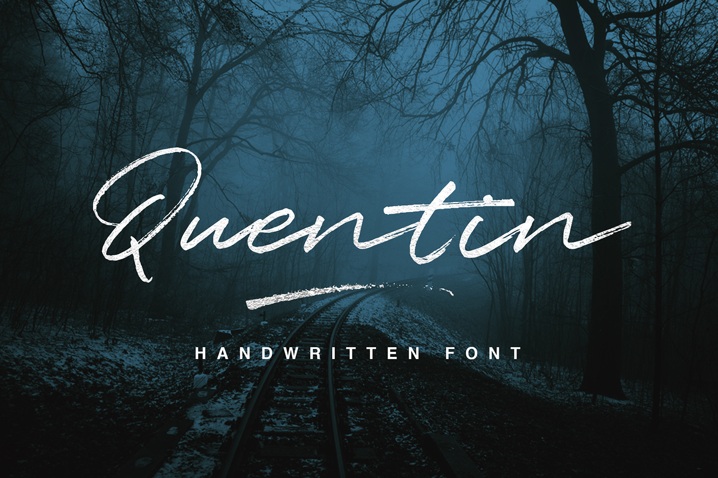 45 free hand made and calligraphy fonts