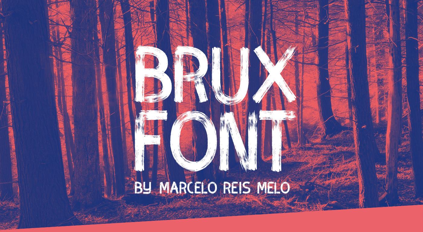 BRUX BOLD BRUSH FONT on Behance