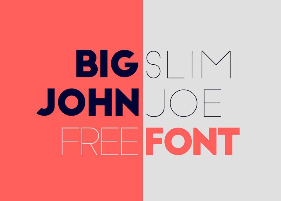 Big John - Free Font