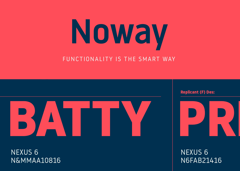 Noway Free Font