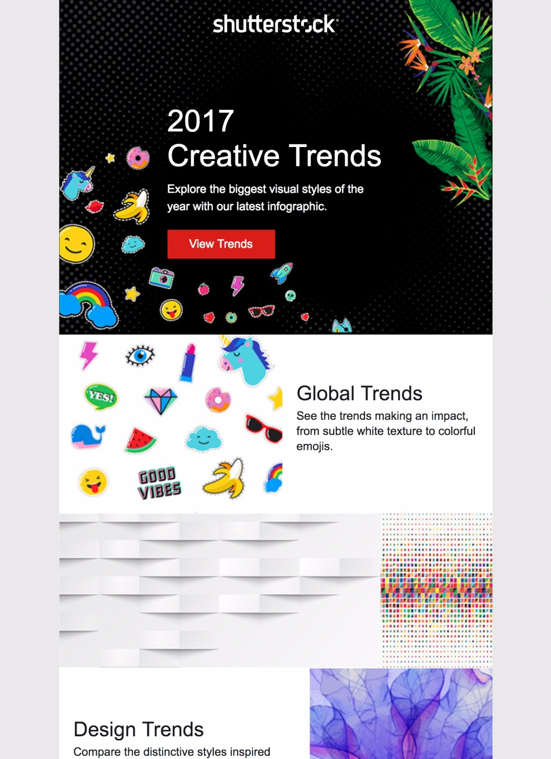 Discover our top creative trends of 2017