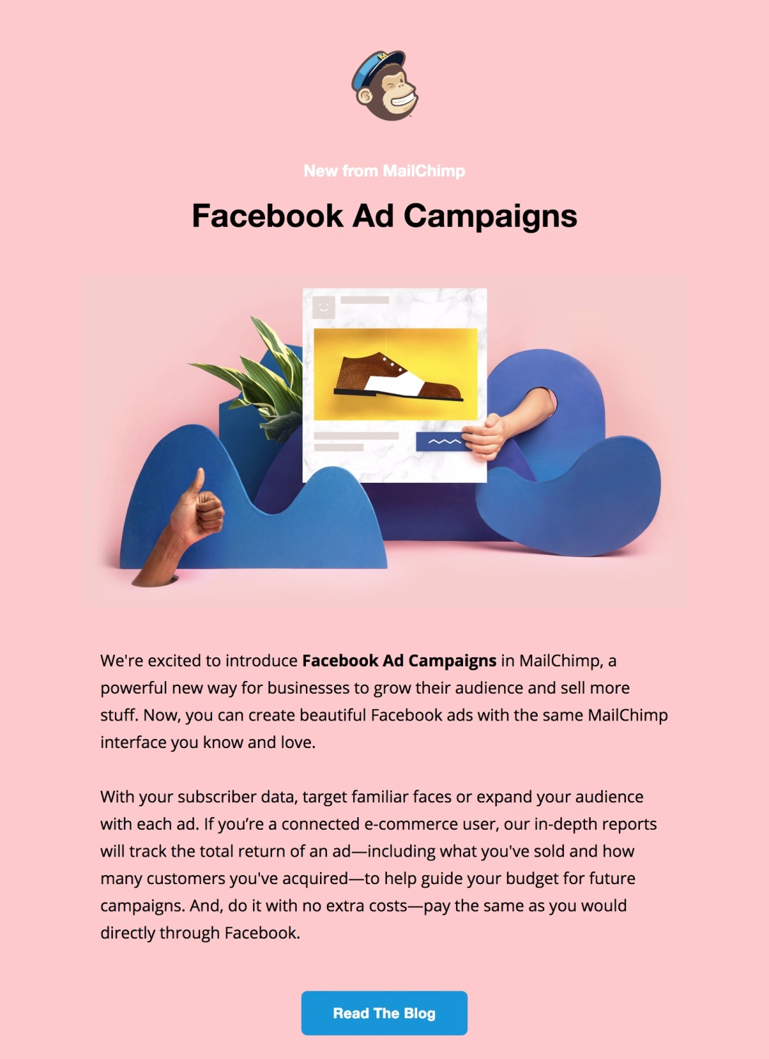 😻 Facebook Ad Campaigns in MailChimp are Here