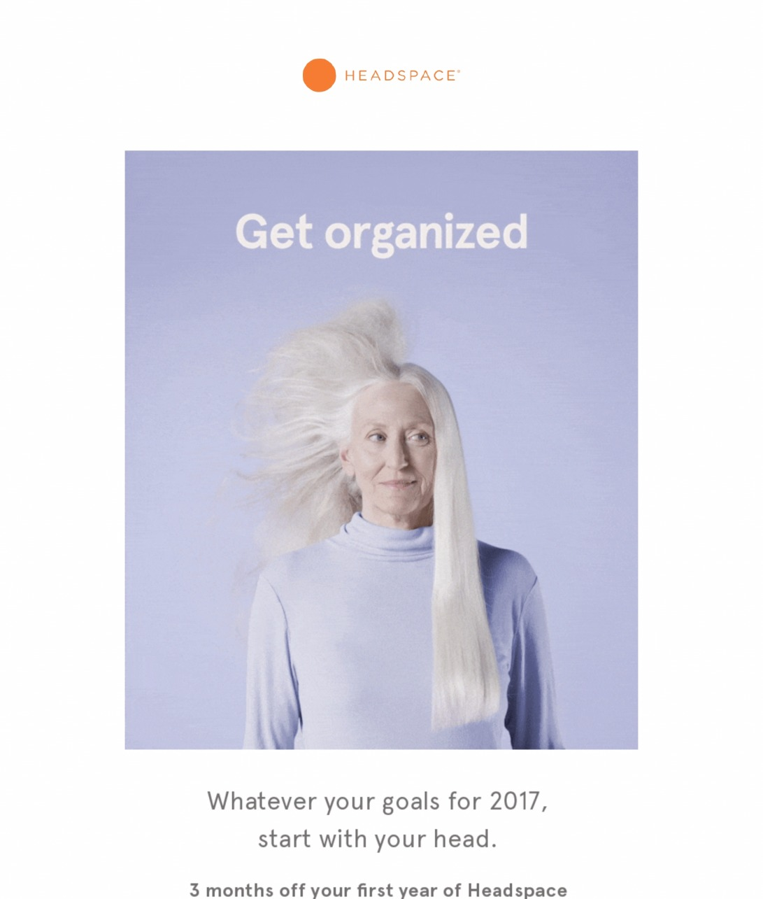 Get your head straight with 3 months off Headspace