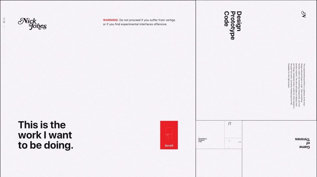 Nick Jones - Interface Prototyper / Designer