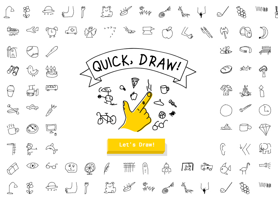 Google Quick Draw - AI Game