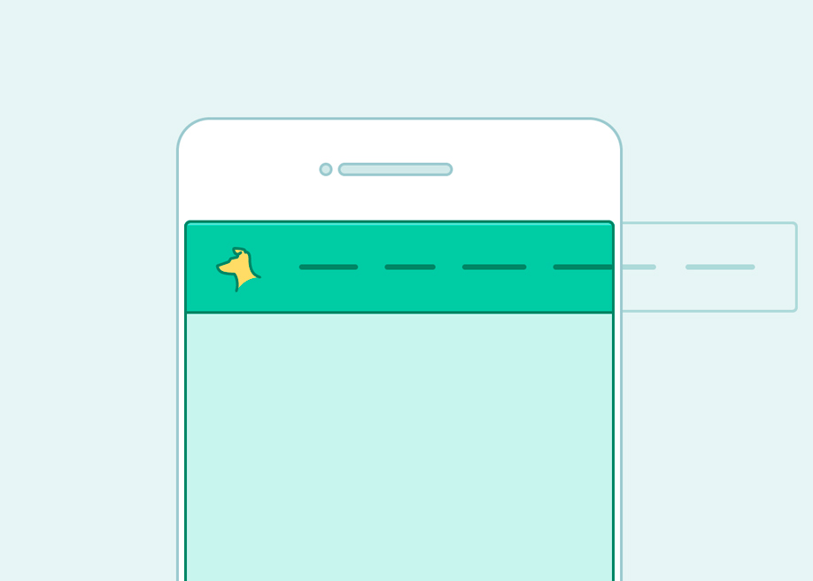 Creating a horizontal responsive menu
