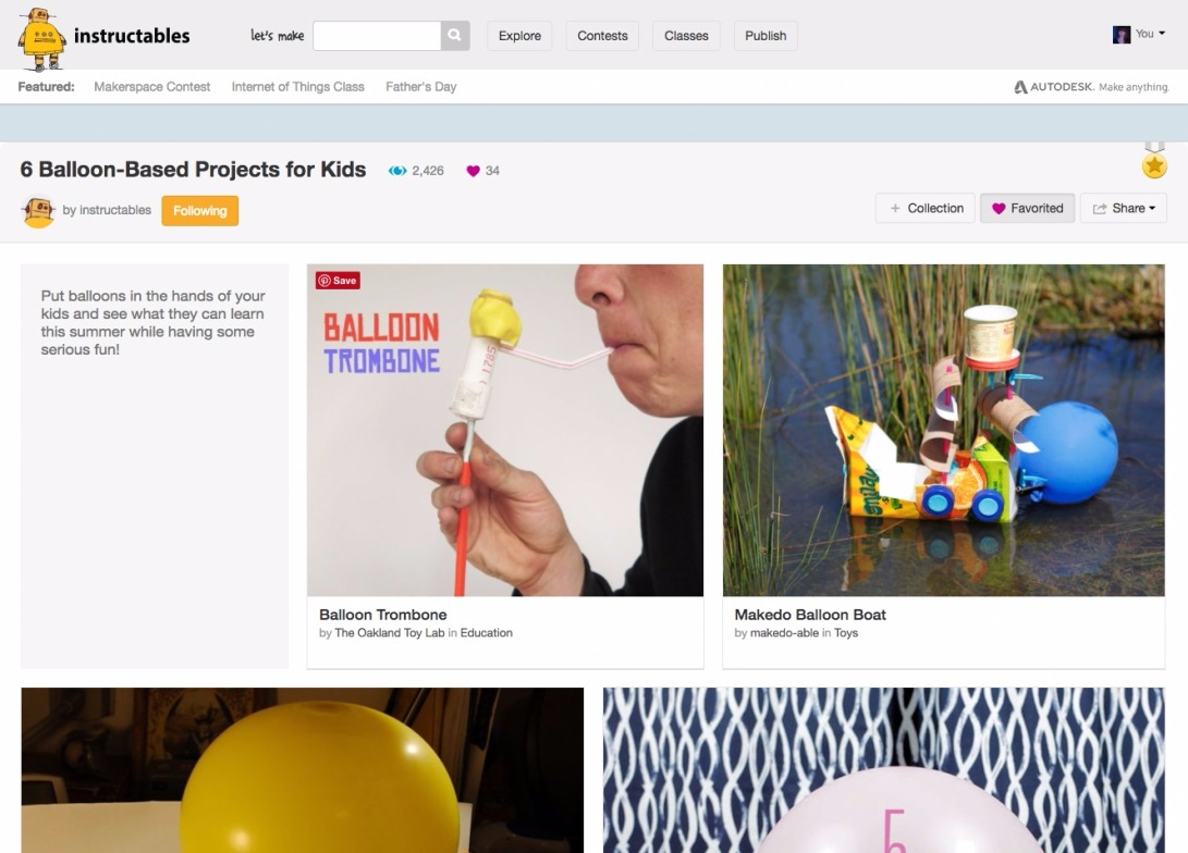 6 Balloon-Based Projects for Kids