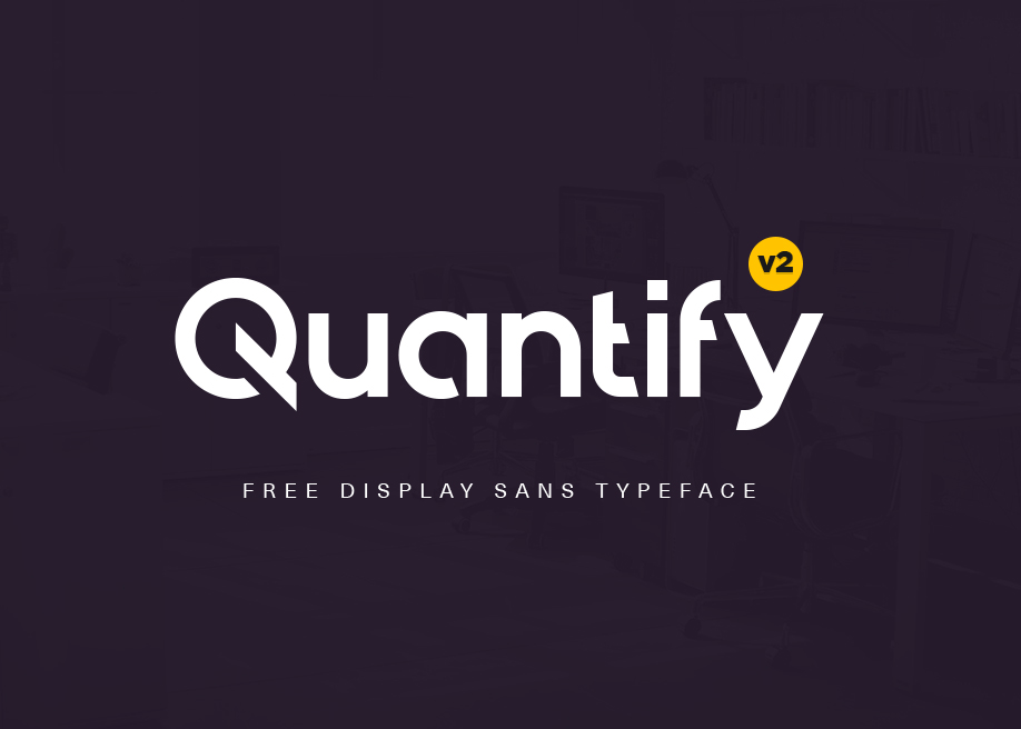 Quantify In Free Fonts
