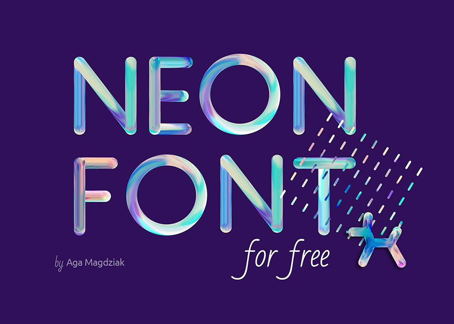 Neon In Free Fonts