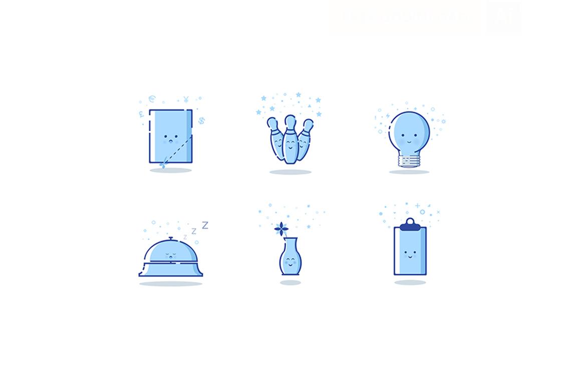 Fun icons free set