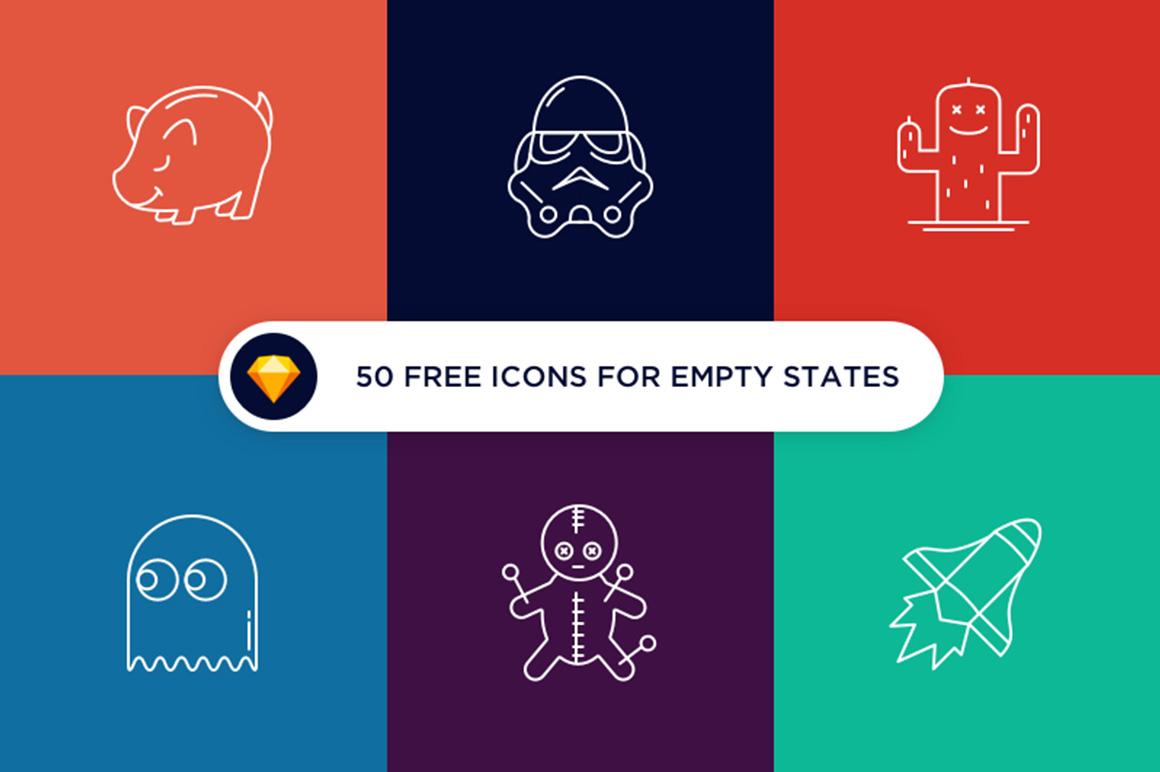 Various free icons set
