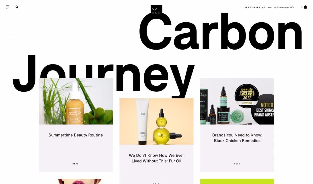 Carbon Journey – Carbon Beauty