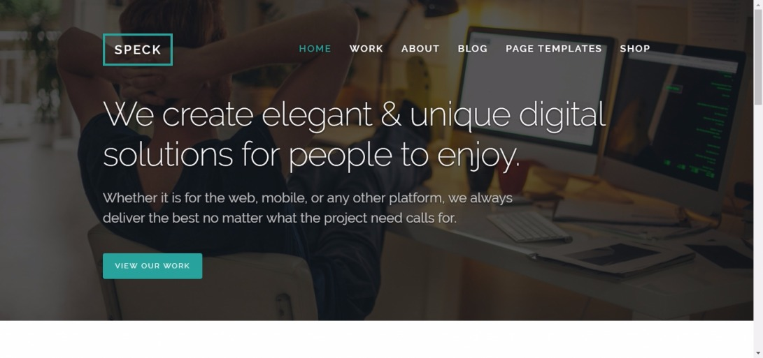 Speck - Just another Mighty WordPress Themes site
