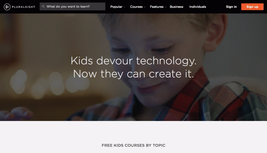 Free coding courses for kids | Pluralsight