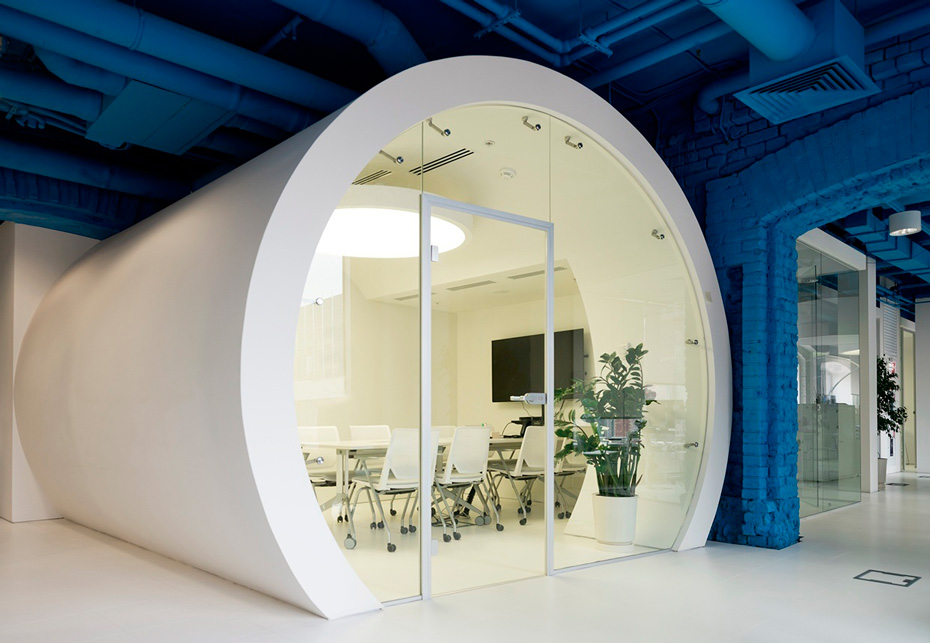 Optimedia's office in Moscow