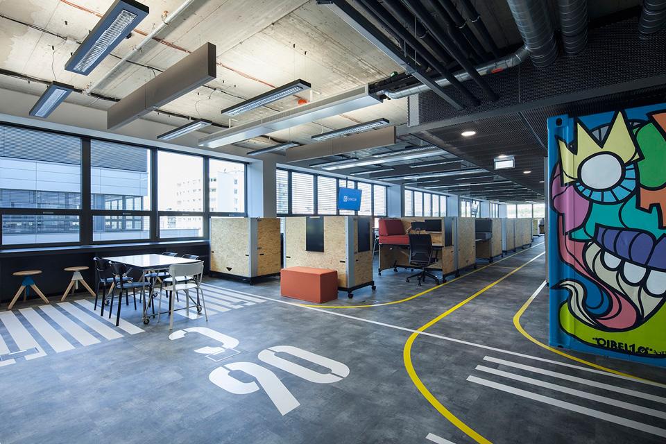 Concur's new Prague office