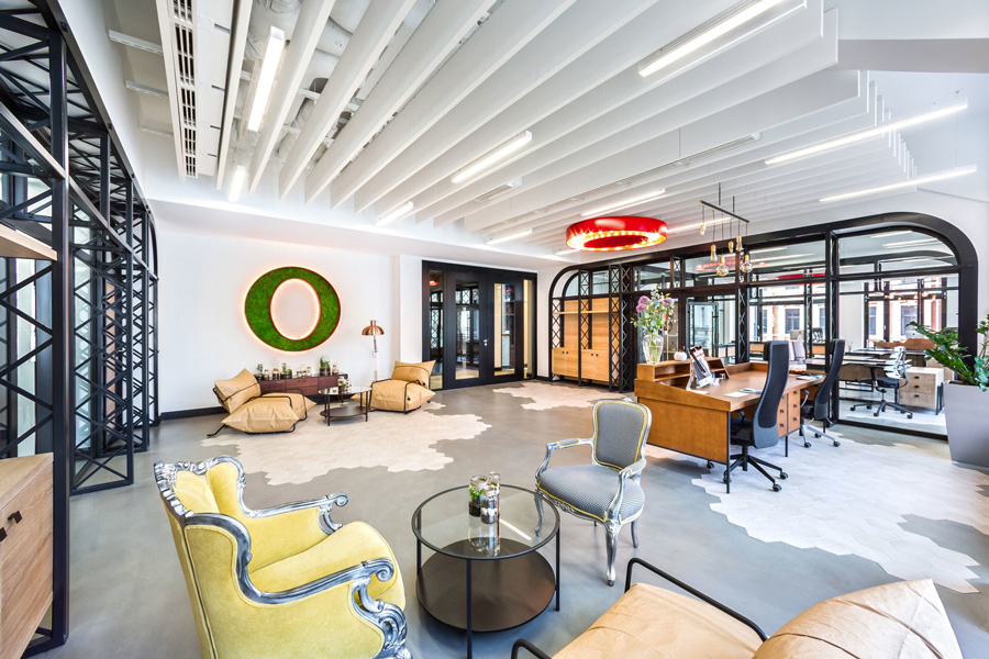 Opera software's office in Wroclaw, Poland