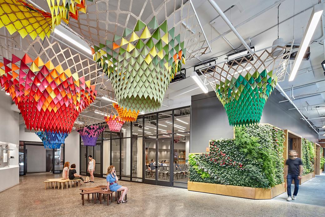 Etsy's headquarters in Brooklyn, NY