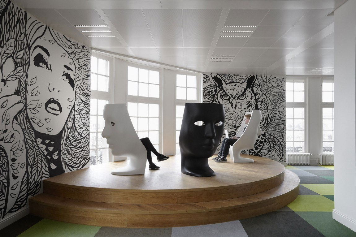JWT's office in Amsterdam