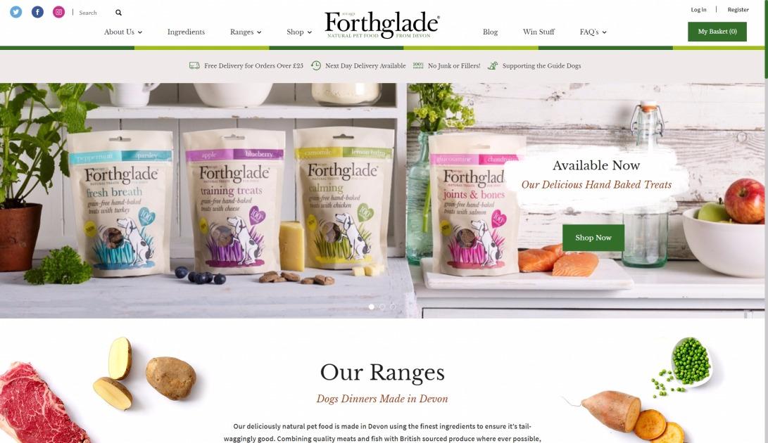 Natural & Organic Grain Free Dog Food - Hypoallergenic Puppy Food