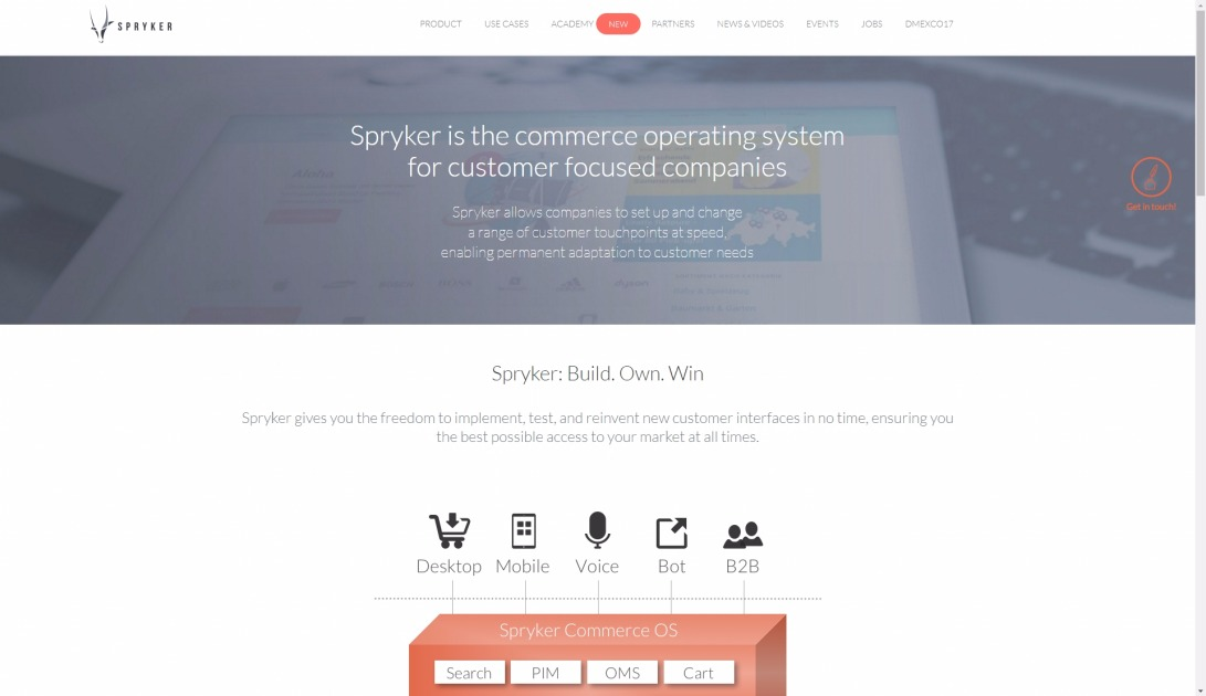 Spryker: E-commerce technology for category leaders