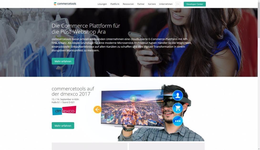commercetools | commerce platform for customer-focused industry leaders