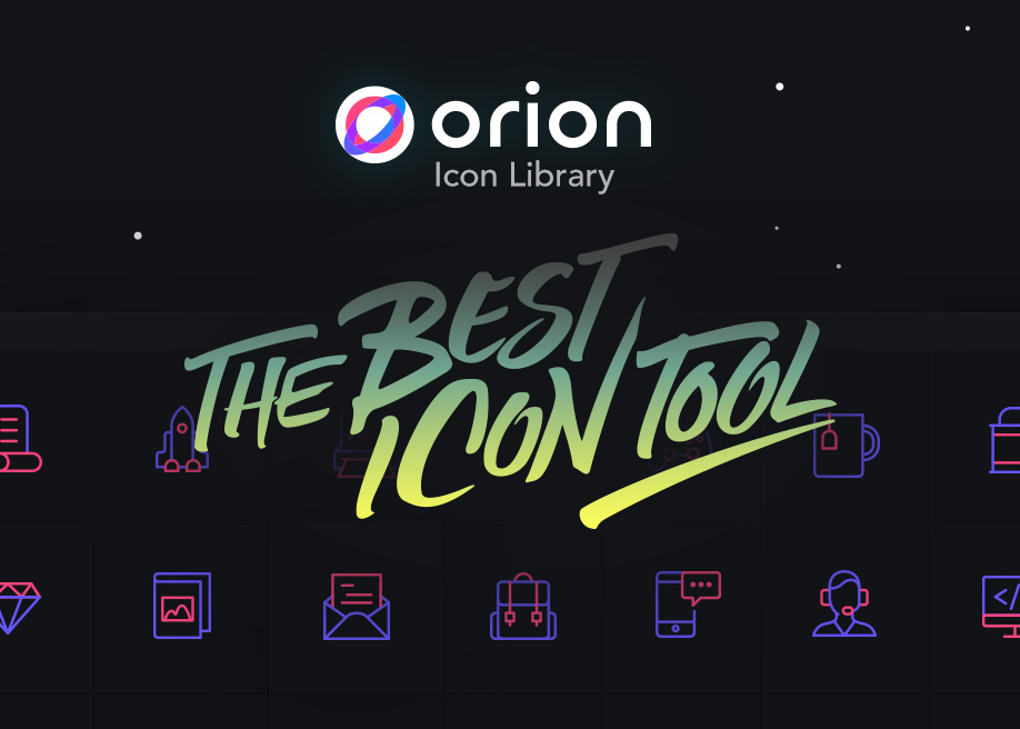 Orion Icon Library