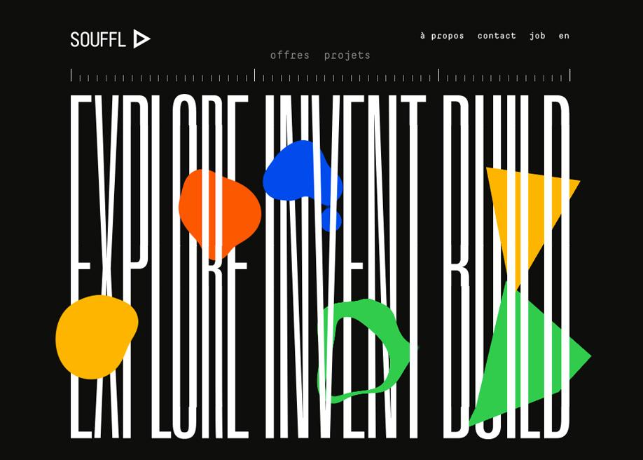 Souffle - Typo Animation