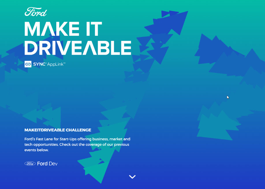 Make it Driveable Gradient Background