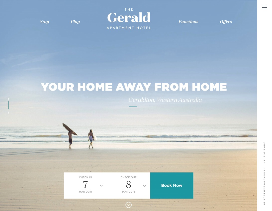 The Gerald – Apartment Hotel   Home