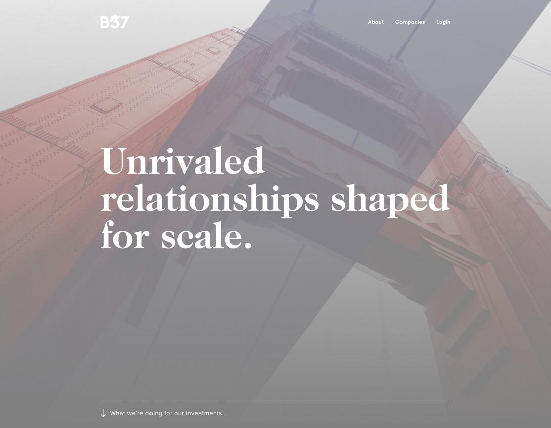 Venture Capital Innovation & Scale   B37