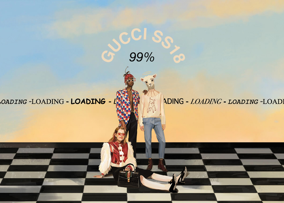 2018 Gucci loading page