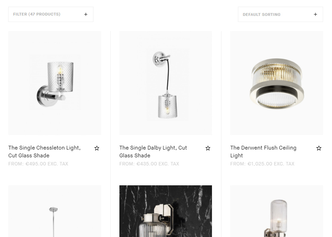 Drummonds product page