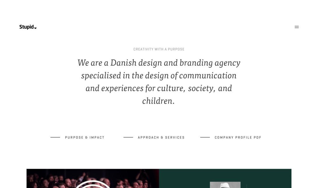 Stupid Studios – A Design & Branding Agency