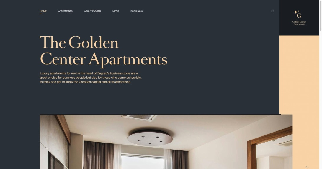 Golden Center Apartments Zagreb | Homepage