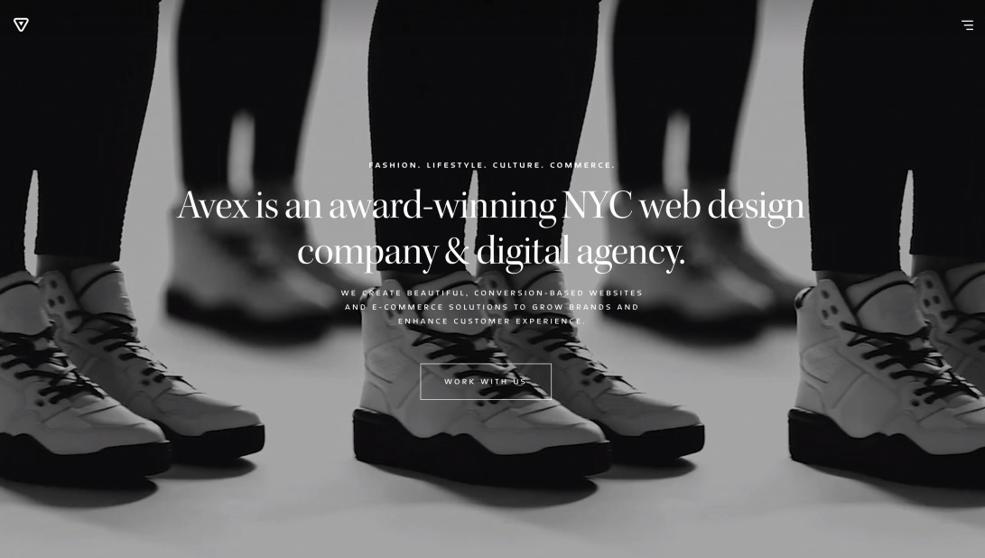 NYC Web Design Company & Digital Agency   Avex Designs