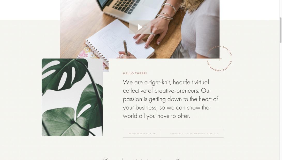 Heartfelt branding for the passionate entrepreneur – Copperheart Creative