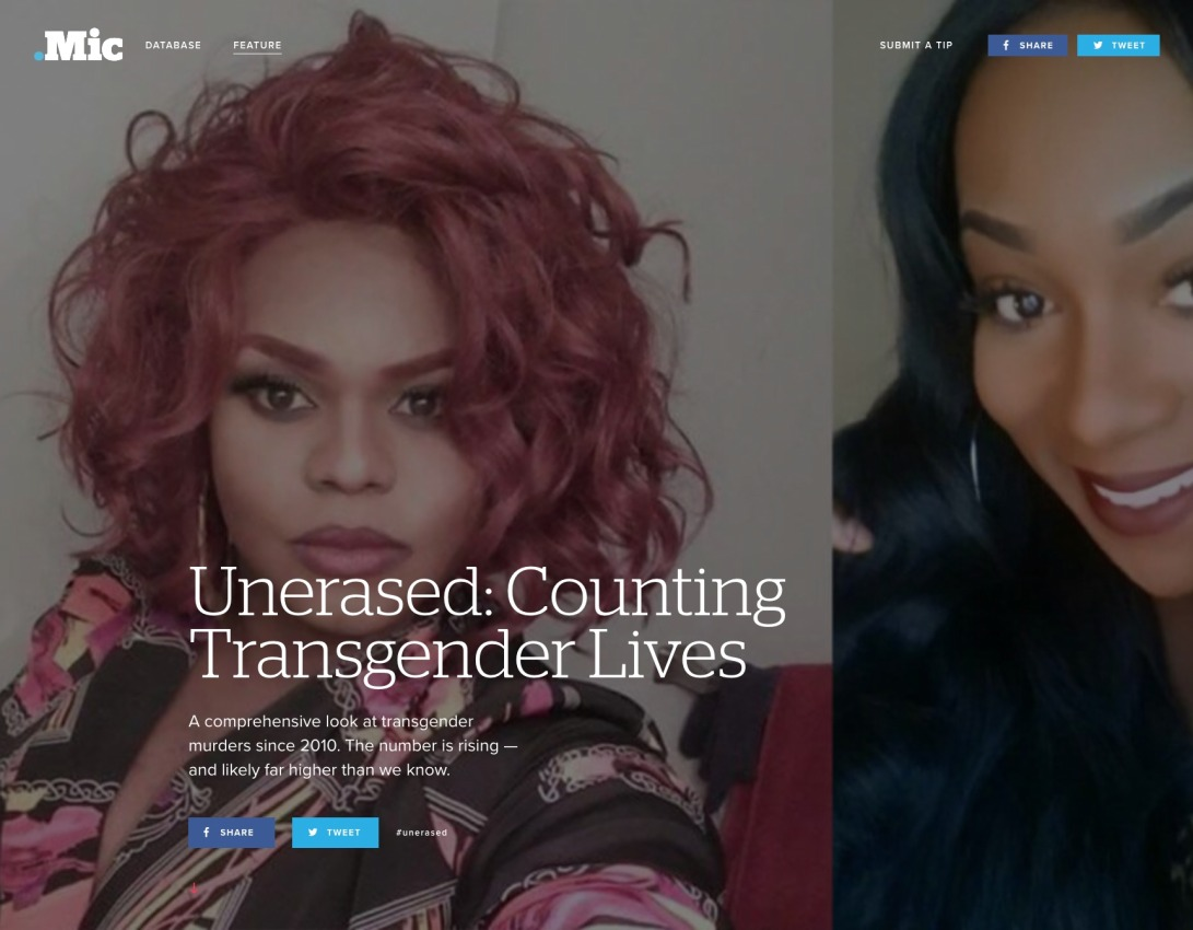 Unerased: Counting Transgender Lives | Mic