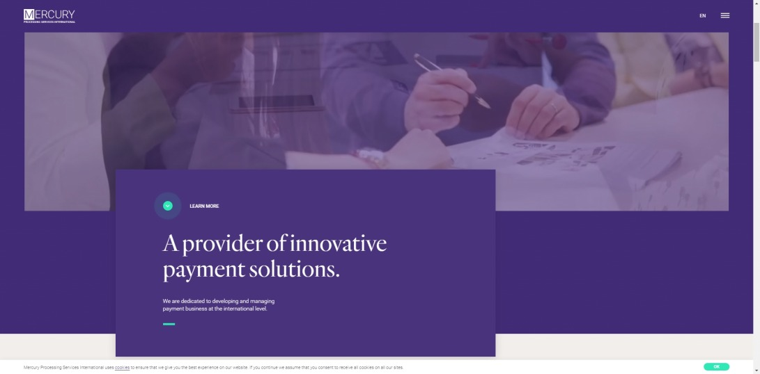 Mercury Processing Services International - Innovative Payment Solutions