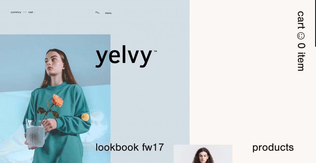 yelvy™ – online store