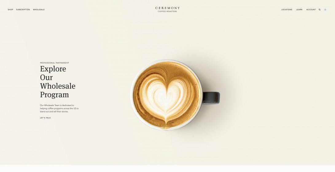Ceremony Coffee Roasters: Order Coffee, Find Cafés, Shop Gear, Learn