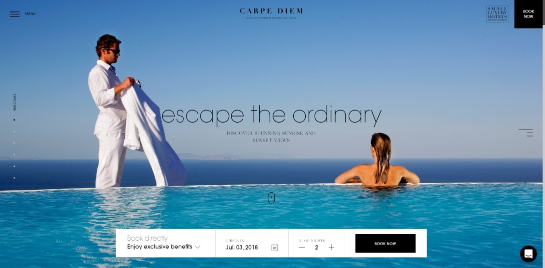 Luxury Honeymoon Hotel Santorini | Carpe Diem Santorini