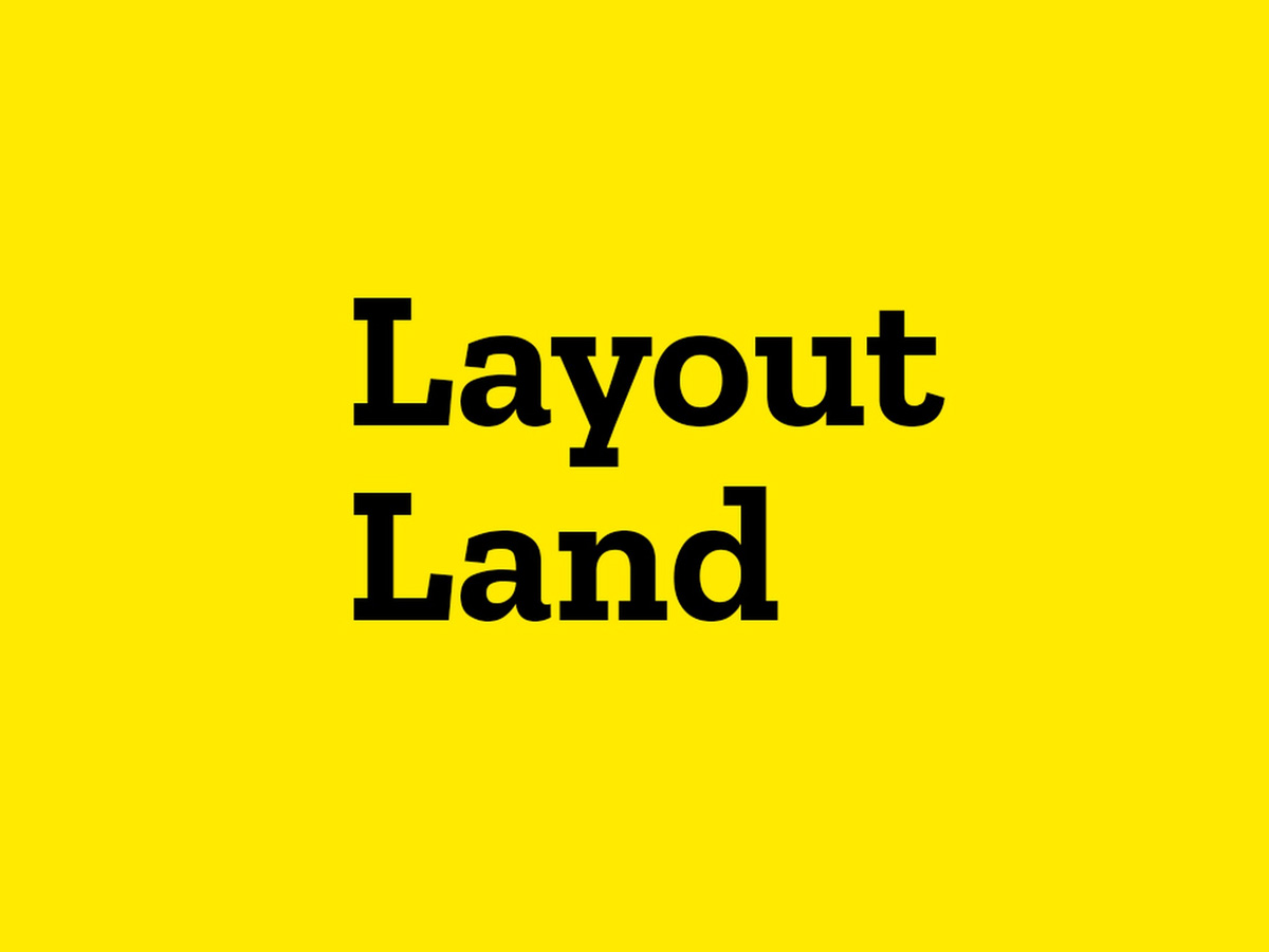 Layout Land YouTube Channel