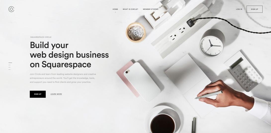 Squarespace Circle: Build your web design business